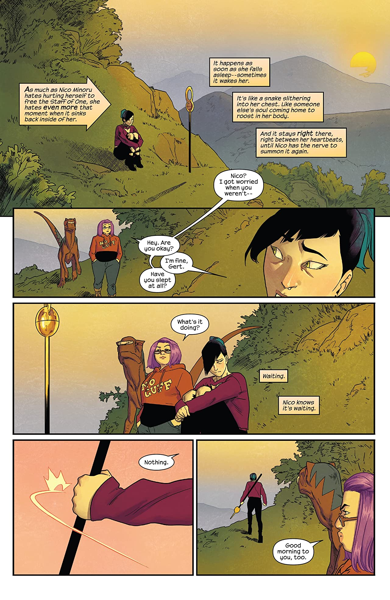 Runaways by Rainbow Rowell & Kris Anka Tome 2: Best Friends Forever
