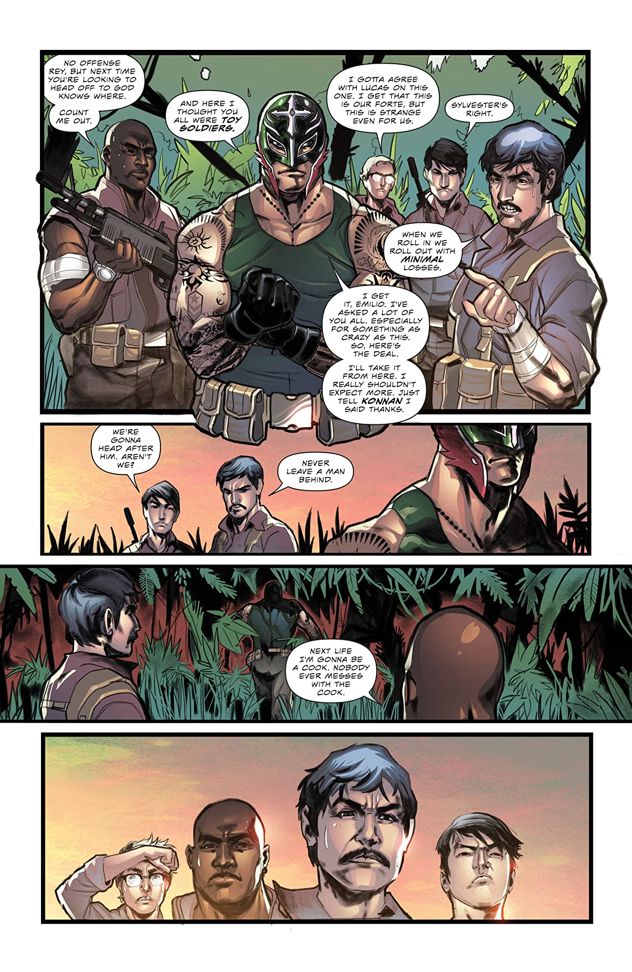 Masked Republic Luchaverse: Rey Mysterio #1