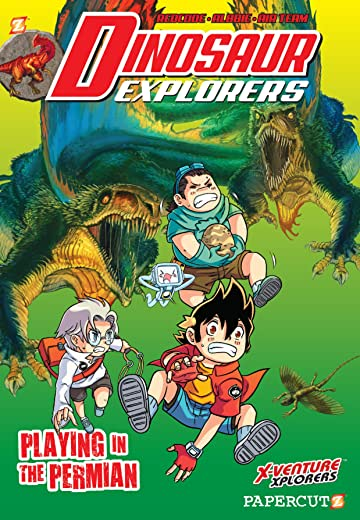 Dinosaur Explorers Vol. 3: Playing in the Permian