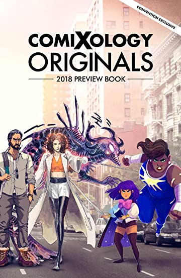 ComiXology Originals 2018 Preview Book