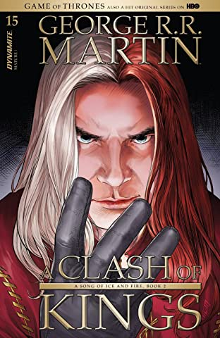 George R.R. Martin's A Clash Of Kings: The Comic Book #15