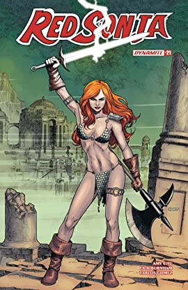 Red Sonja Vol. 4 No.21