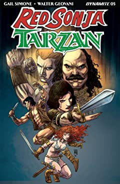 Red Sonja/Tarzan #5