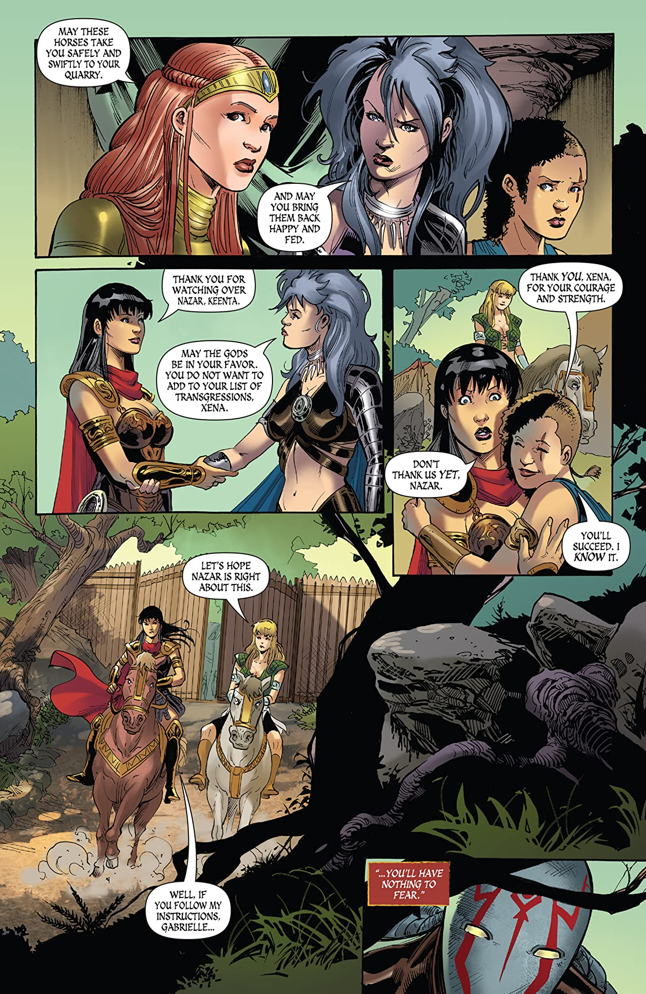 Xena Warrior Princess Vol 4 8 Comics By Comixology