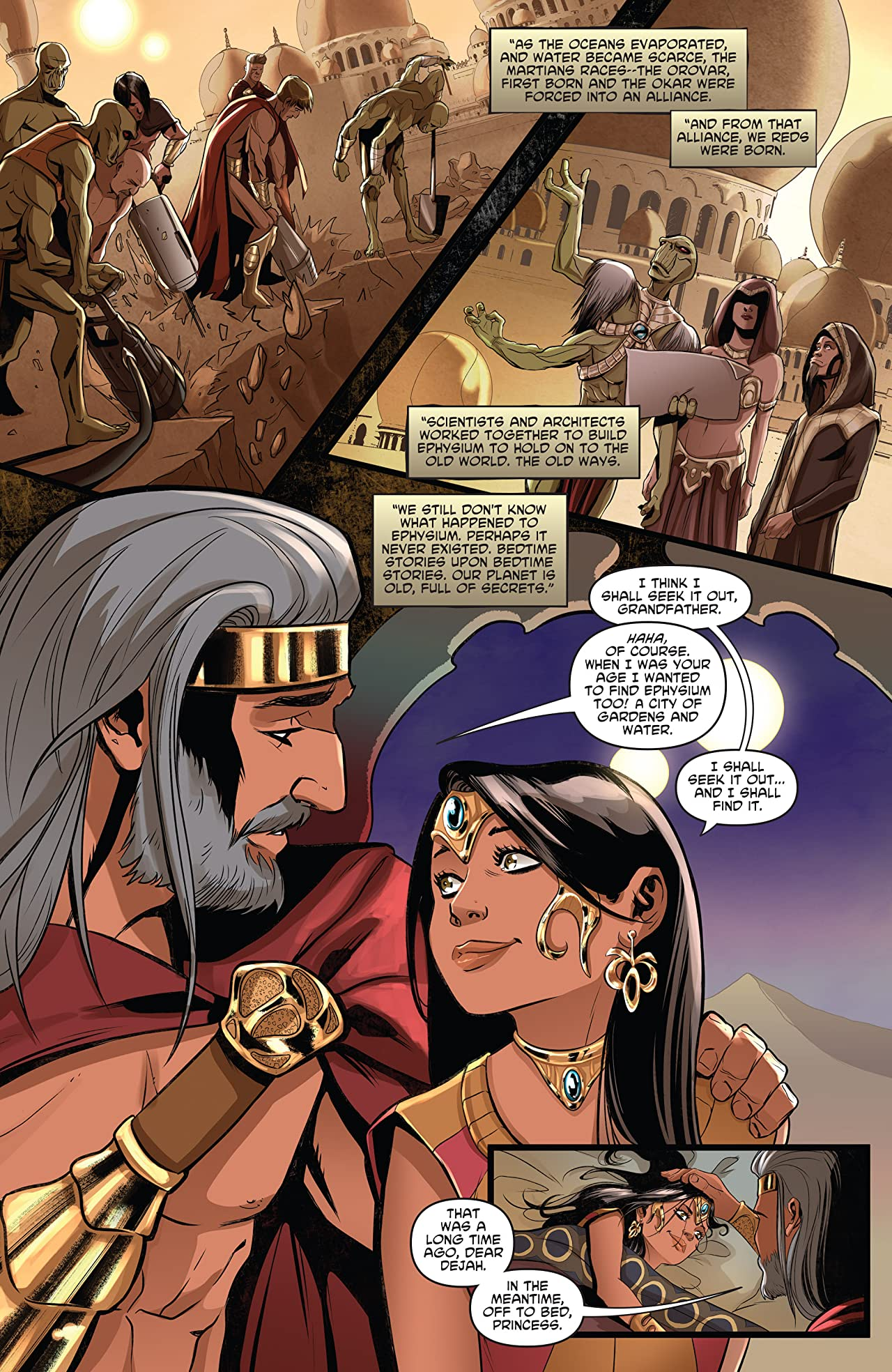 Dejah Thoris Vol. 1: The Garden of Mars