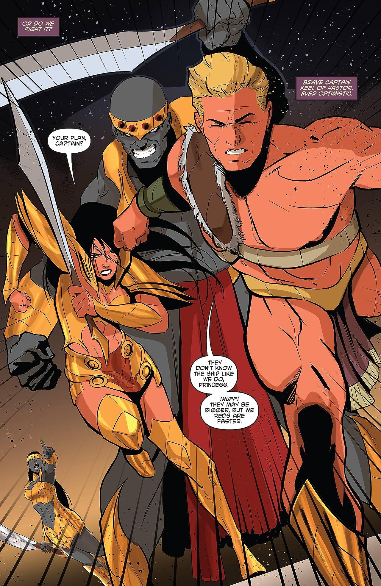 Dejah Thoris Vol. 4 #9