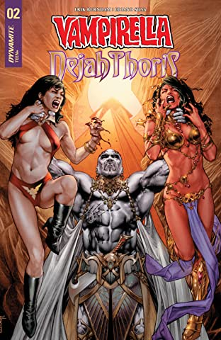 Vampirella/Dejah Thoris No.2