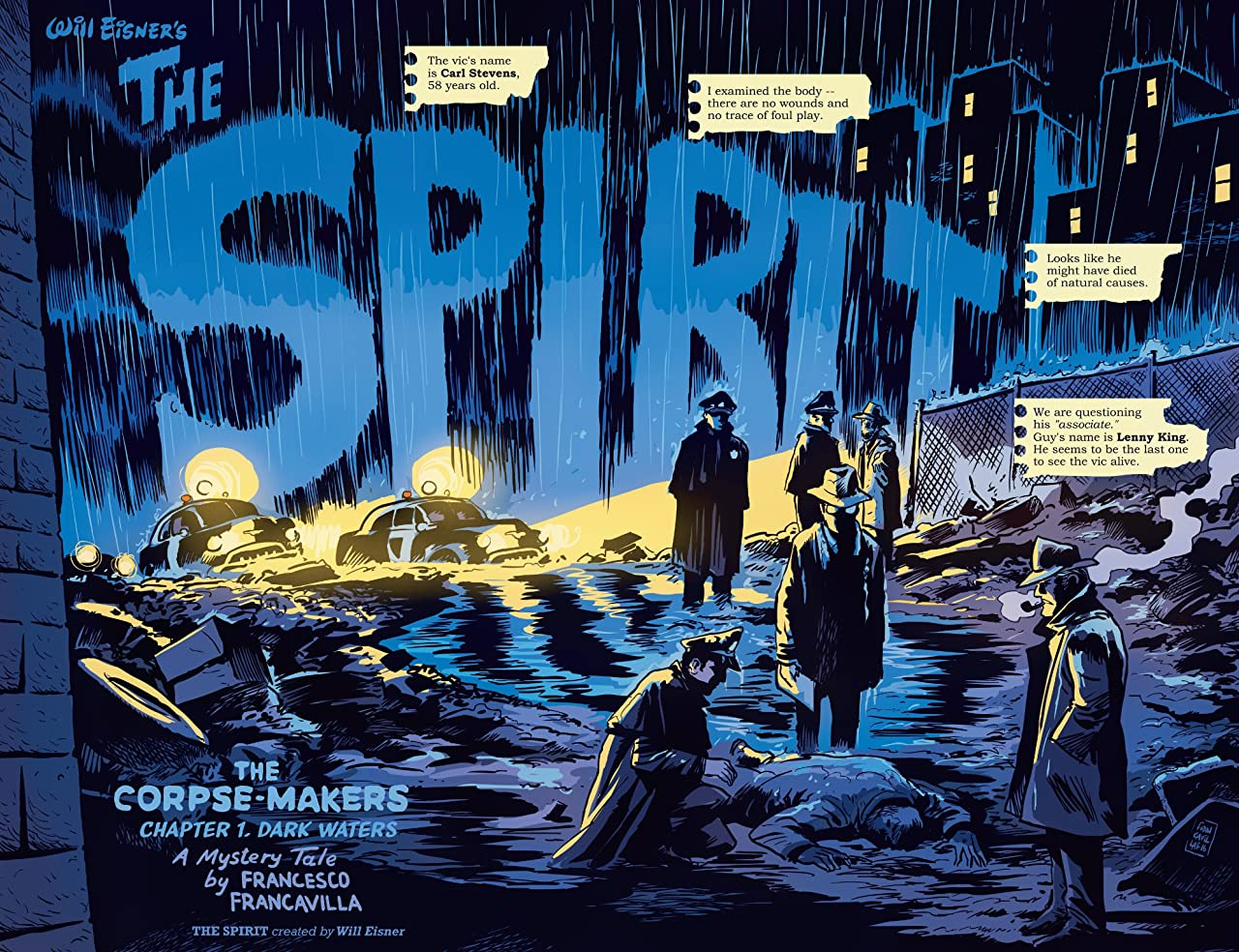 Will Eisner's The Spirit: Corpse-Makers Vol. 1