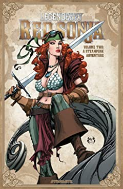 Legenderry Red Sonja Tome 2: A Steampunk Adventure