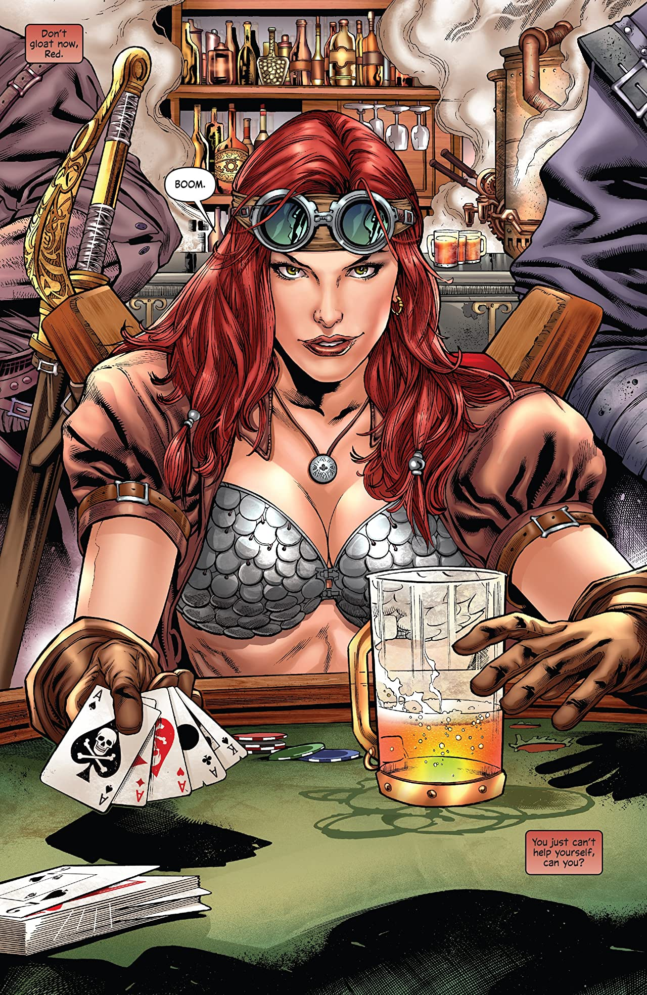 Legenderry Red Sonja Vol. 2: A Steampunk Adventure