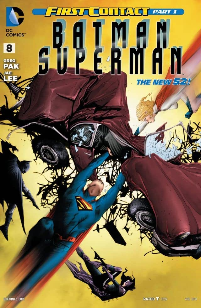 Batman/Superman (2013-2016) #8