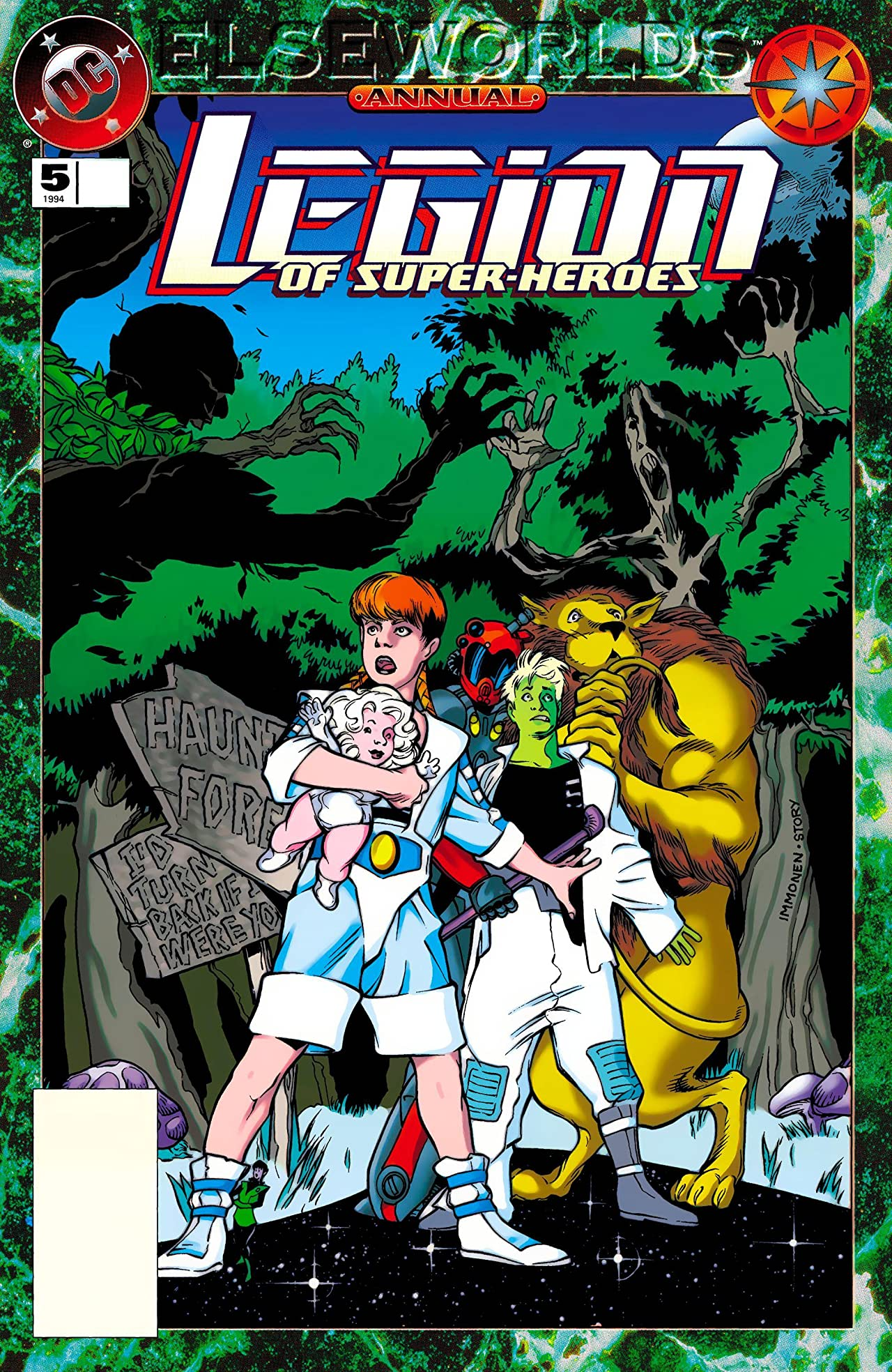 Legion of Super-Heroes (1989-2000) Annual #5