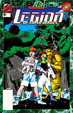 Legion of Super-Heroes (1989-2000) Annual No.5