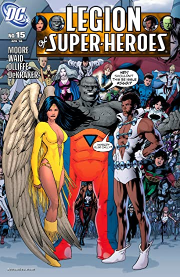 Legion of Super Heroes (2005-2009) #15