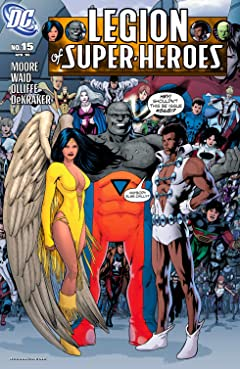 Legion of Super Heroes (2005-2009) No.15