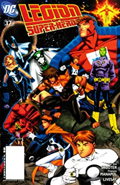 Legion of Super-Heroes (2005-2009) No.37