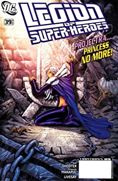 Legion of Super-Heroes (2005-2009) No.39