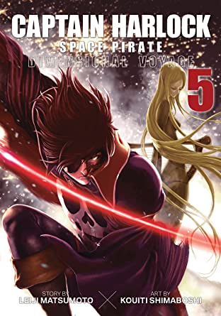 Captain Harlock Space Pirate: Dimensional Voyage Tome 5