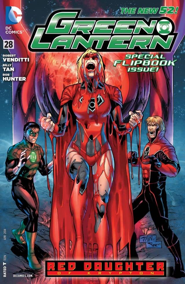 Green Lantern/Red Lanterns (2011-2016) #28