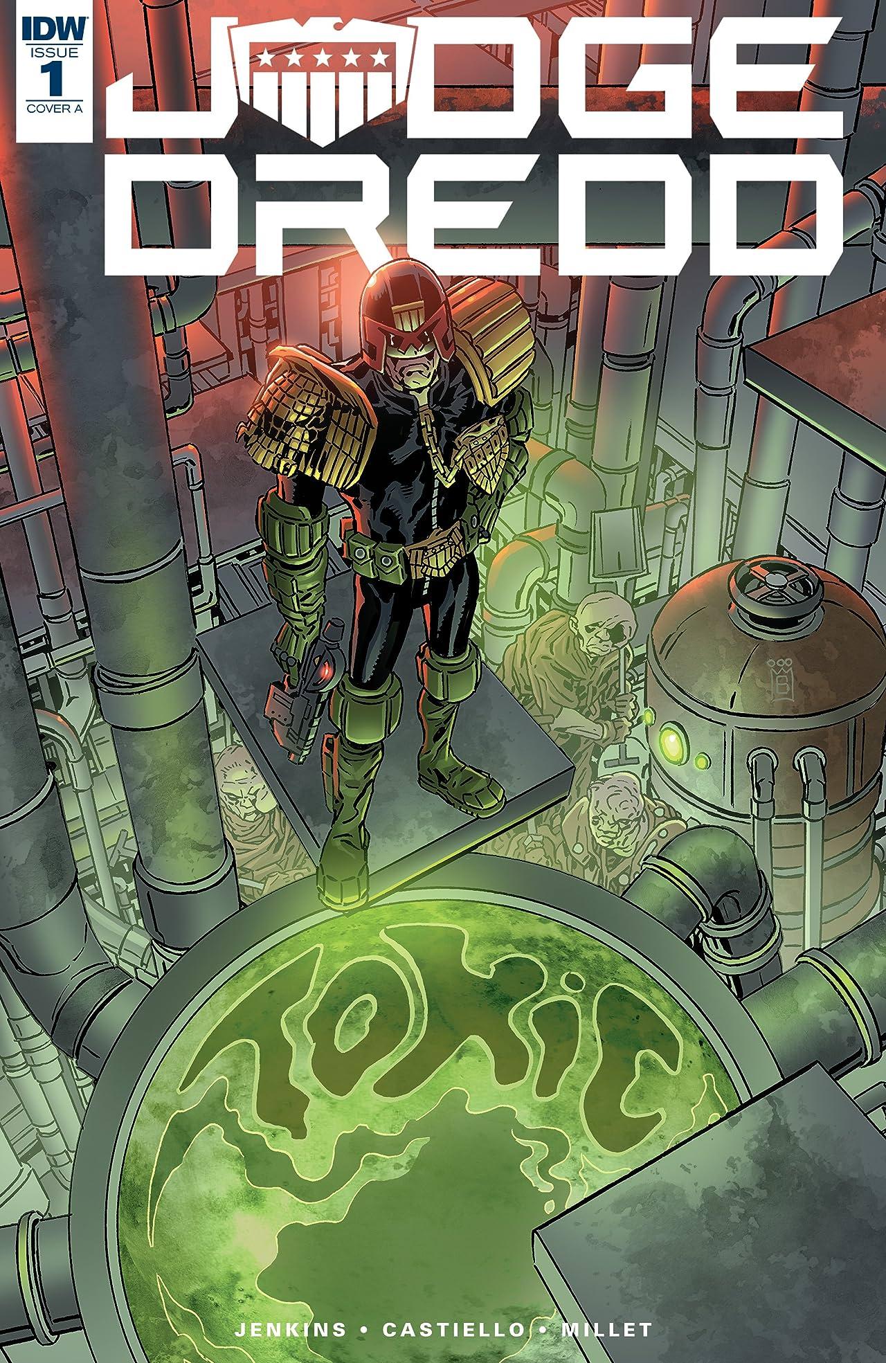 Judge Dredd: Toxic! No.1