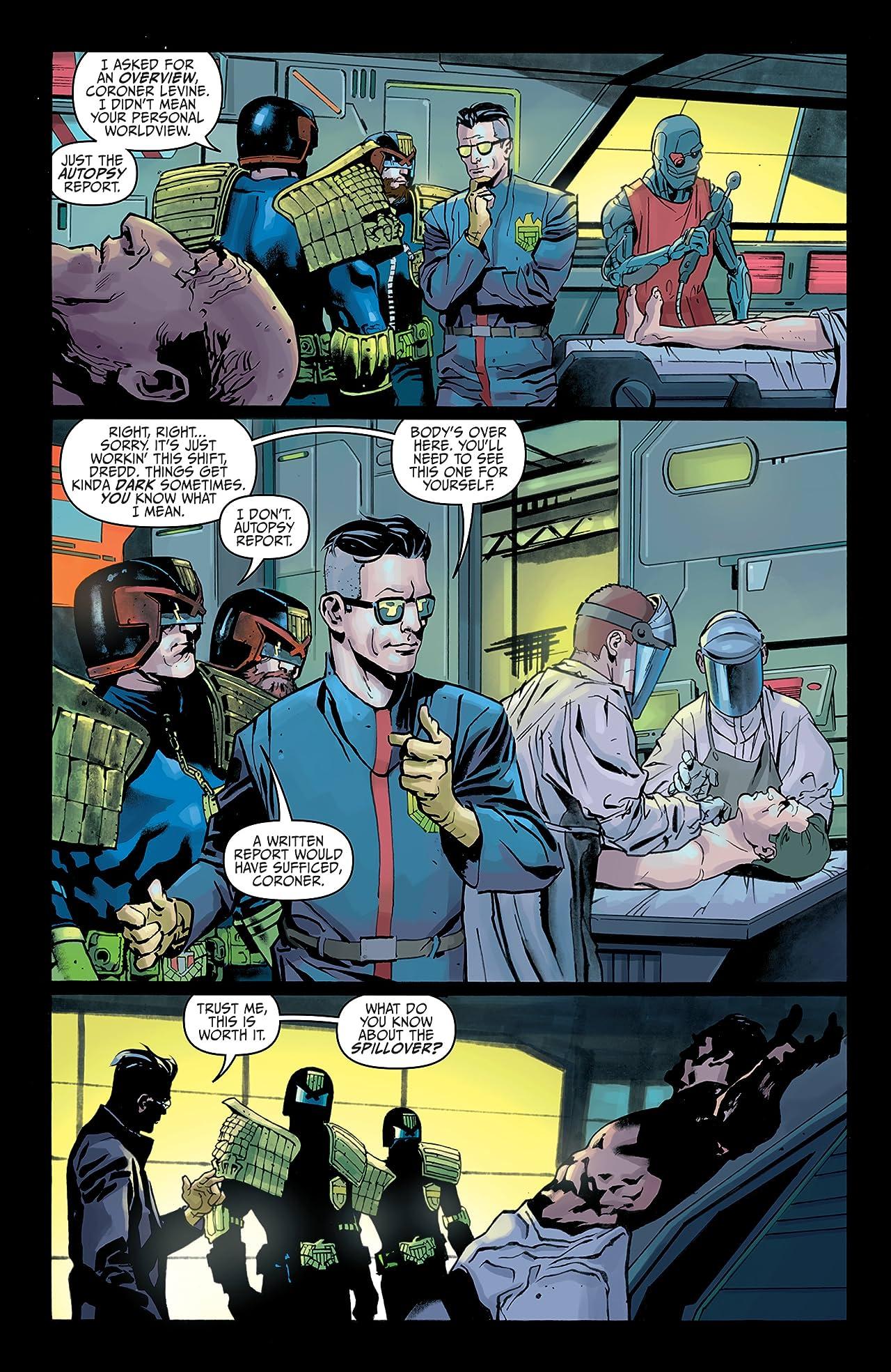 Judge Dredd: Toxic! #1