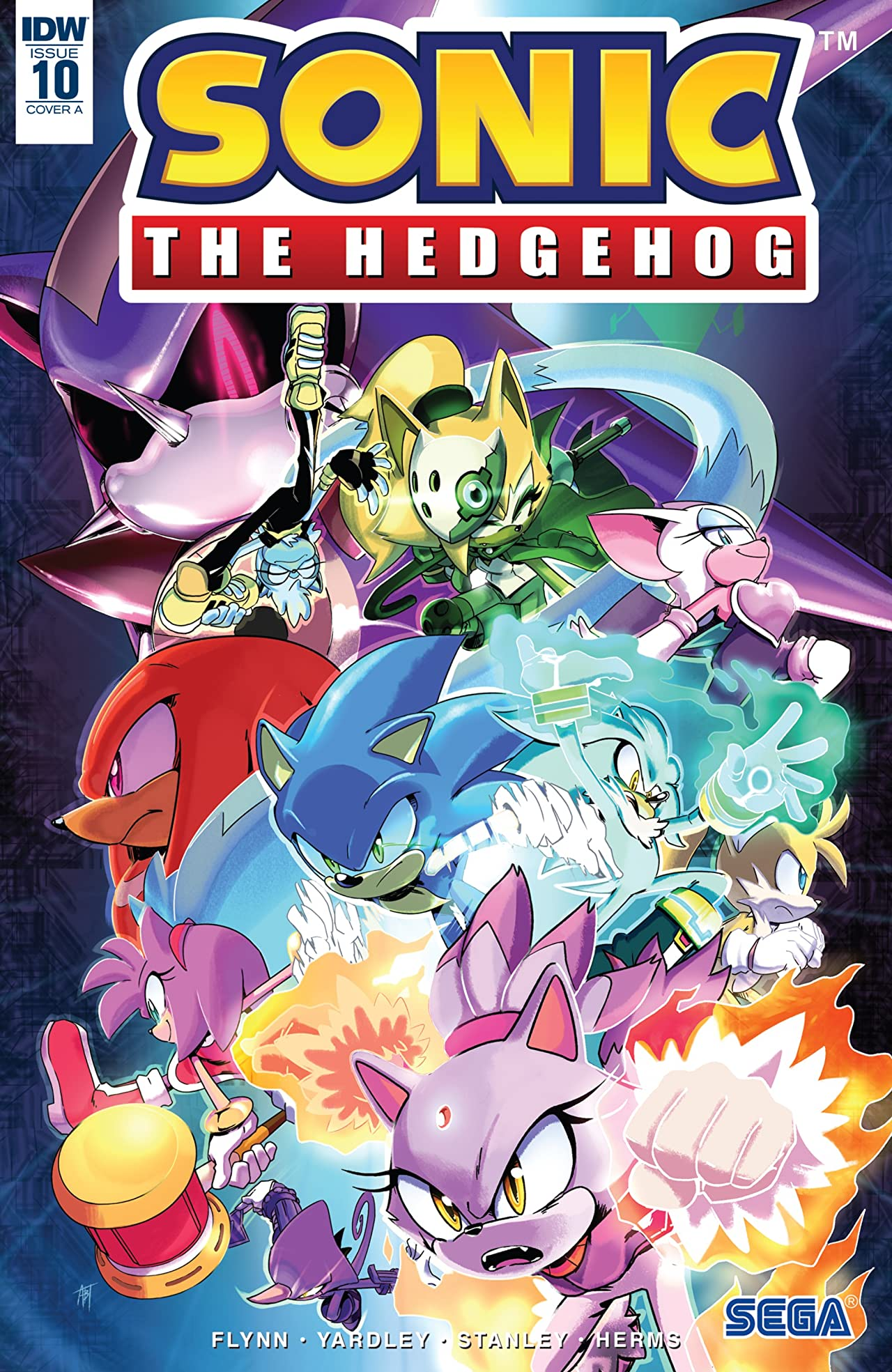 Sonic The Hedgehog (2018-) No.10