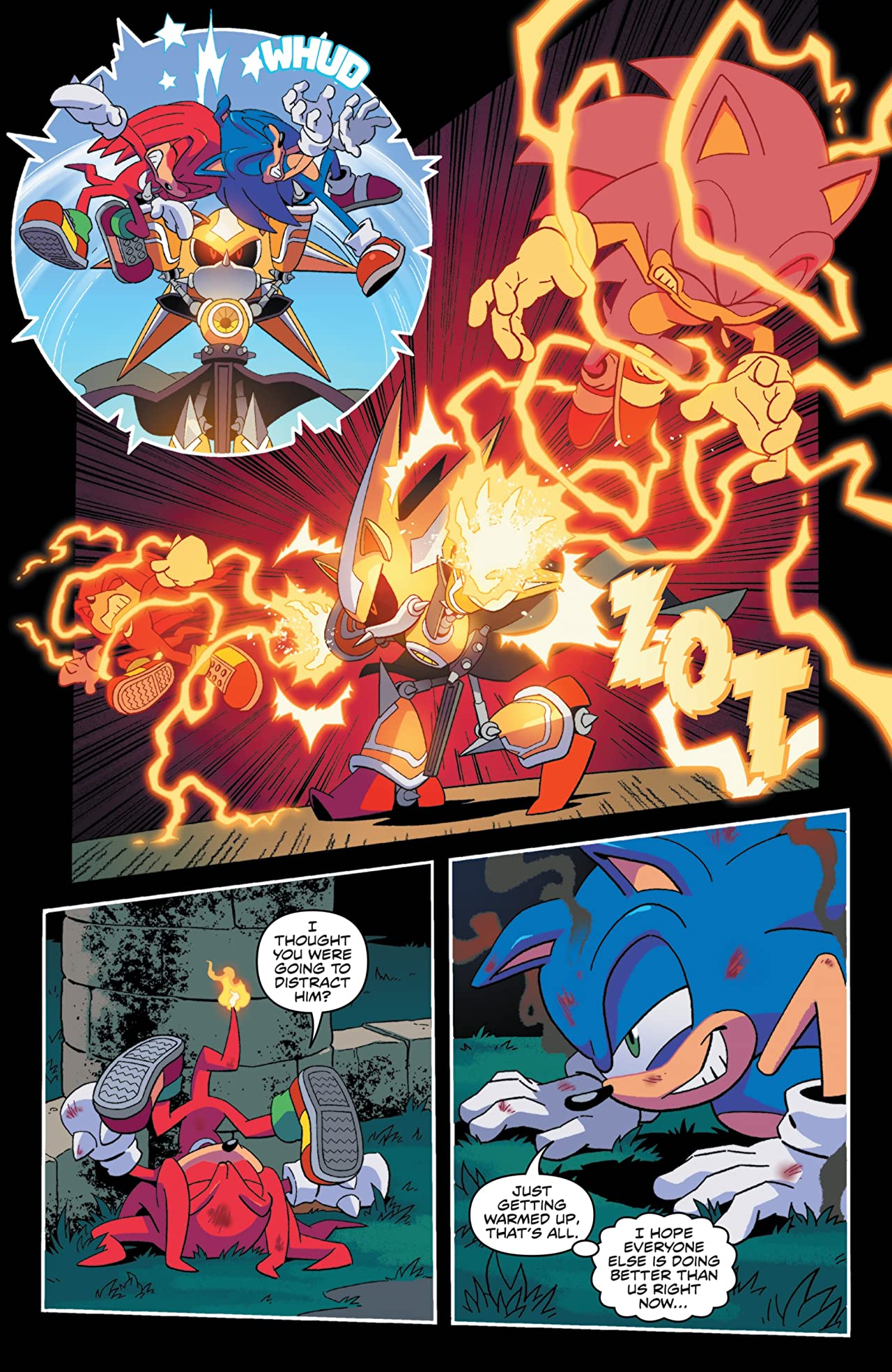 Sonic The Hedgehog (2018-) #10