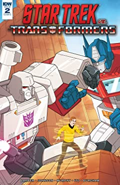 Star Trek vs. Transformers #2 (of 5)