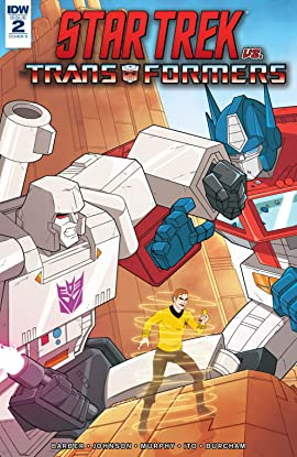 Star Trek vs. Transformers No.2 (sur 5)