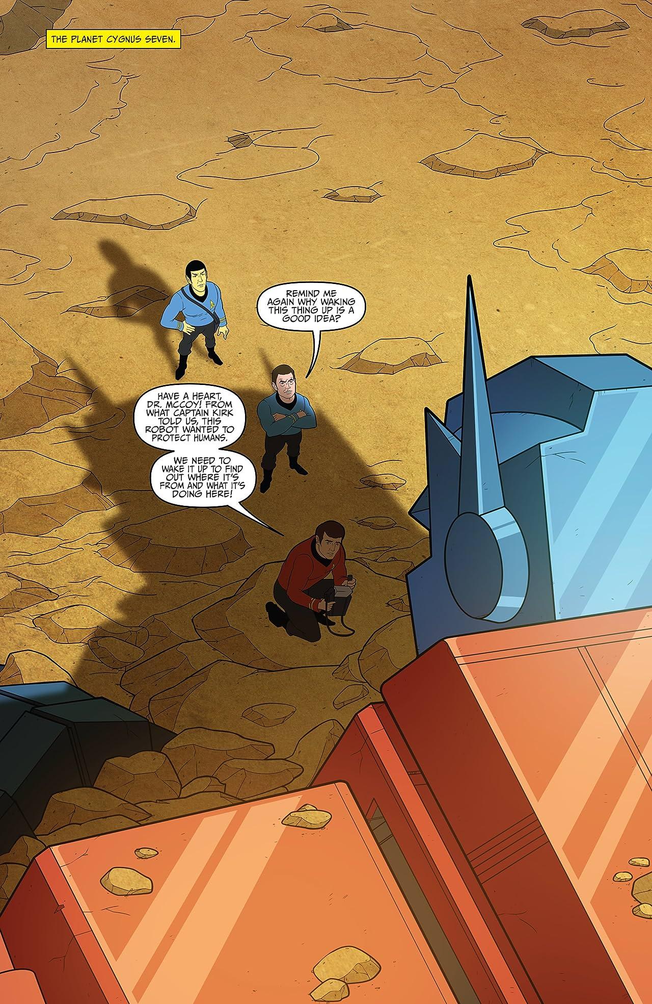 Star Trek vs. Transformers #2 (of 5)