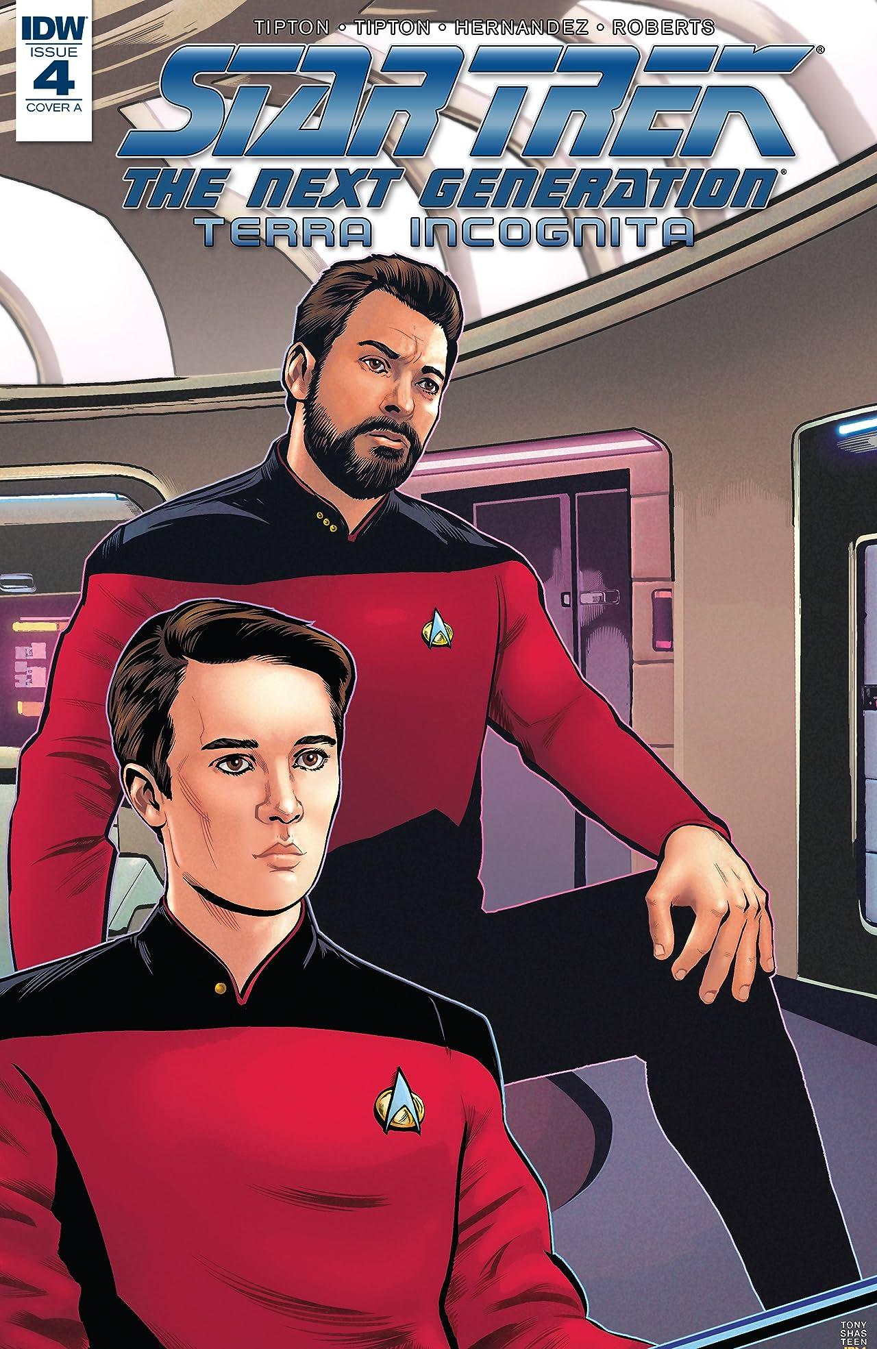 Star Trek: The Next Generation: Terra Incognita #4