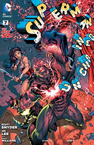 Superman Unchained (2013-2014) No.7