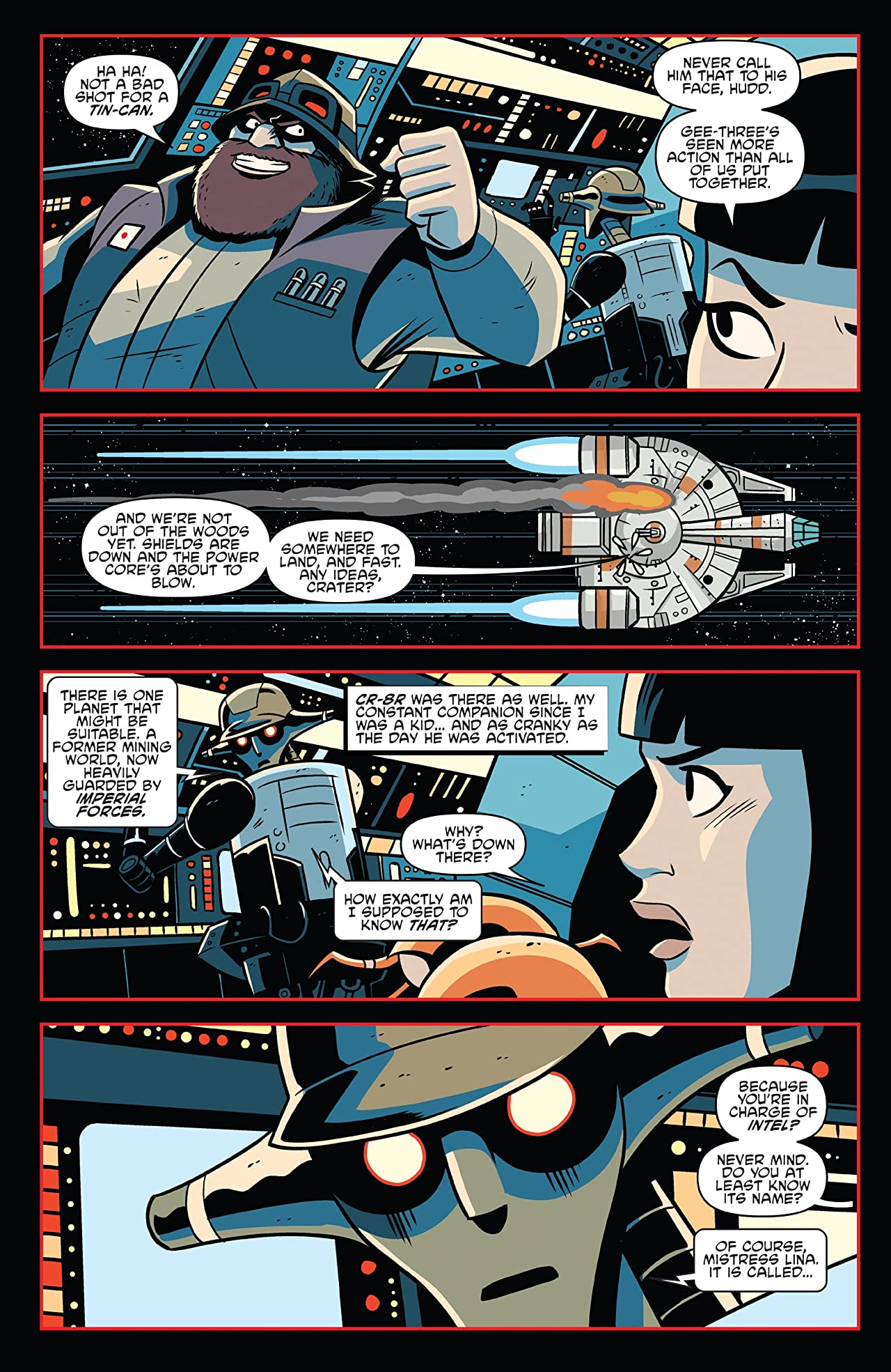 Star Wars Adventures: Tales From Vader's Castle No.1 (sur 5)
