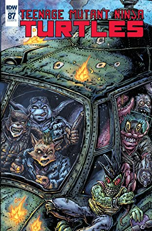 Teenage Mutant Ninja Turtles #87