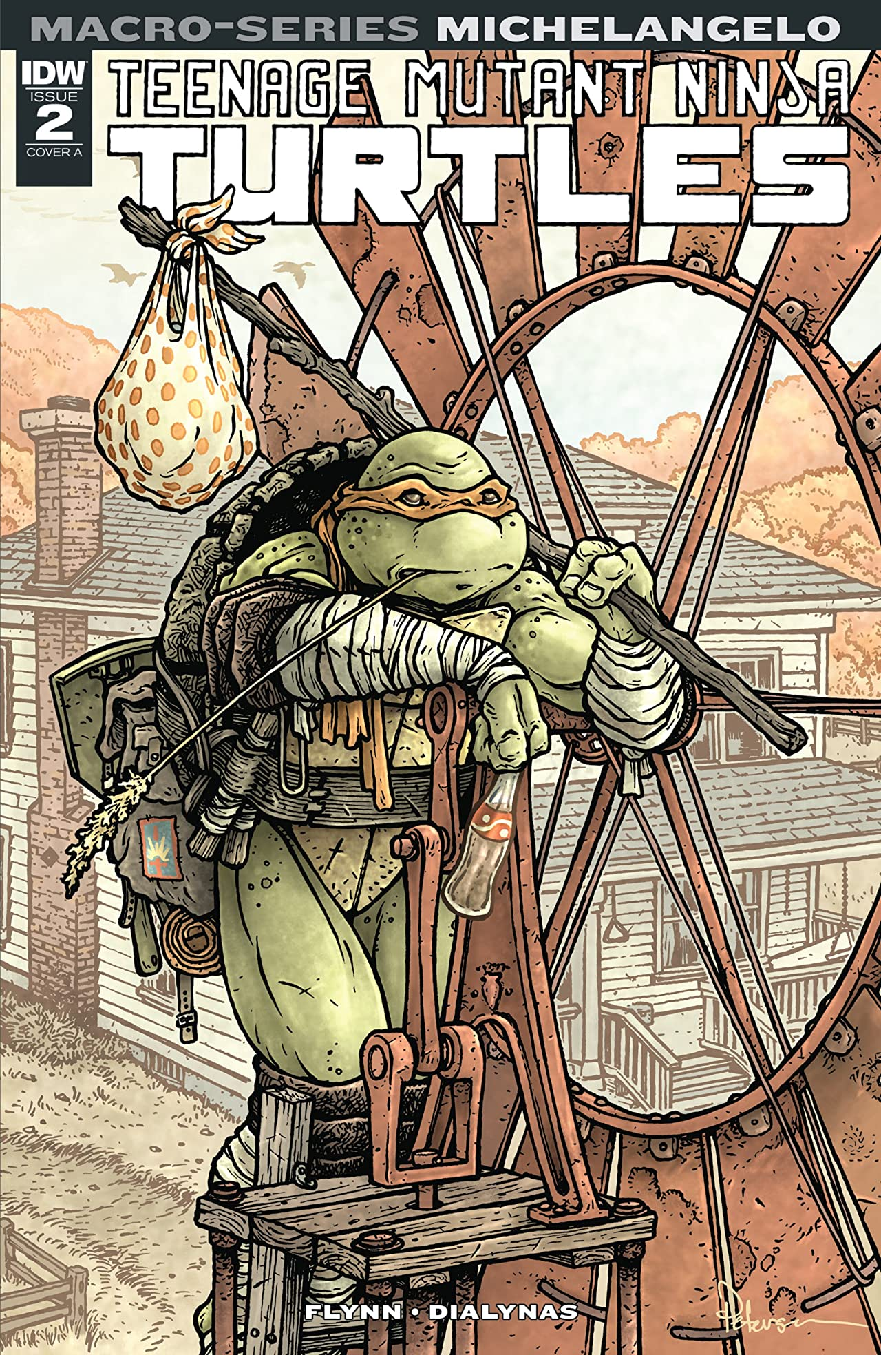 Teenage Mutant Ninja Turtles: Macro-Series: Michelangelo