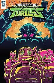 Teenage Mutant Ninja Turtles: Rise of the TMNT #2