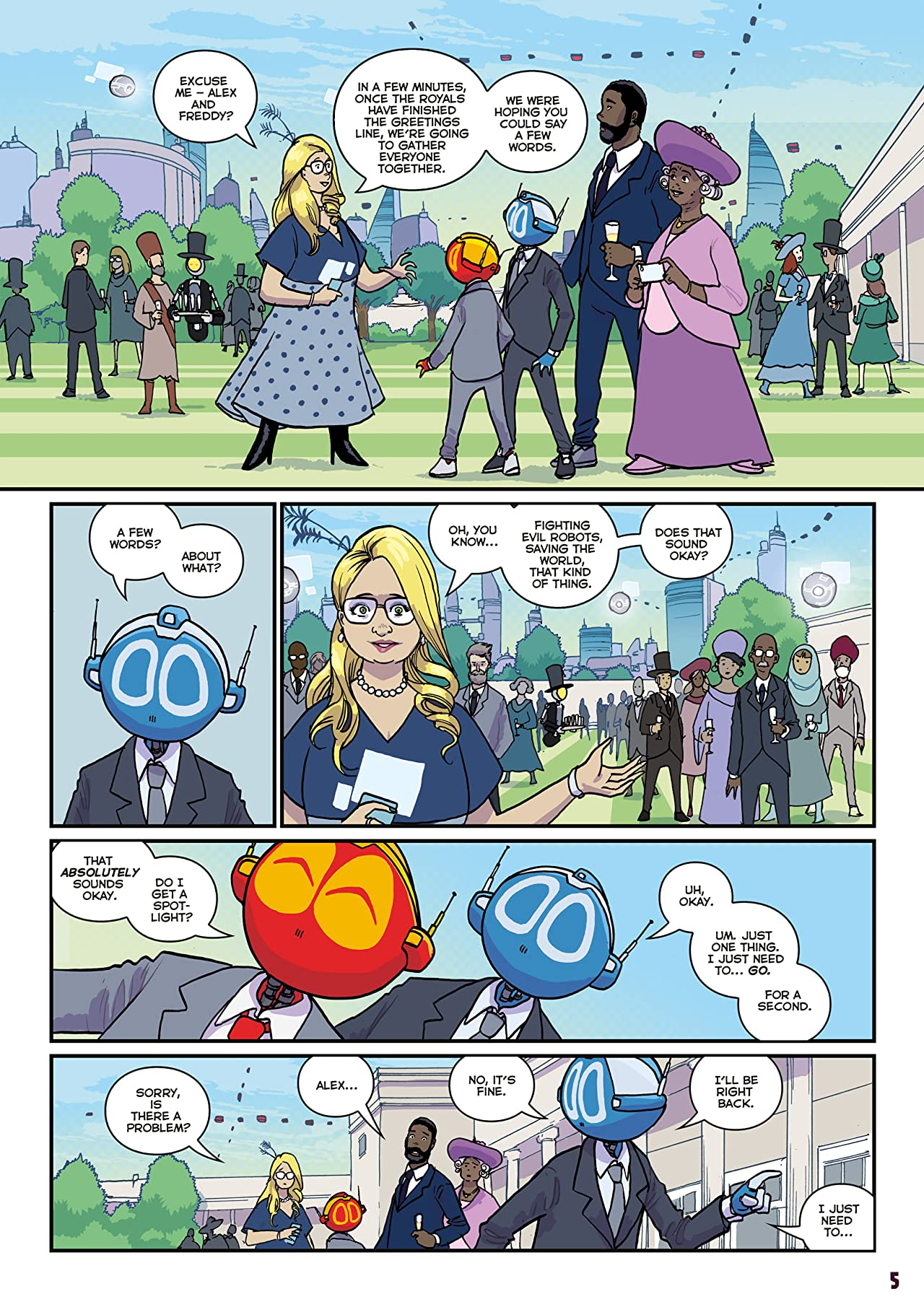 The Phoenix #335: The Weekly Story Comic