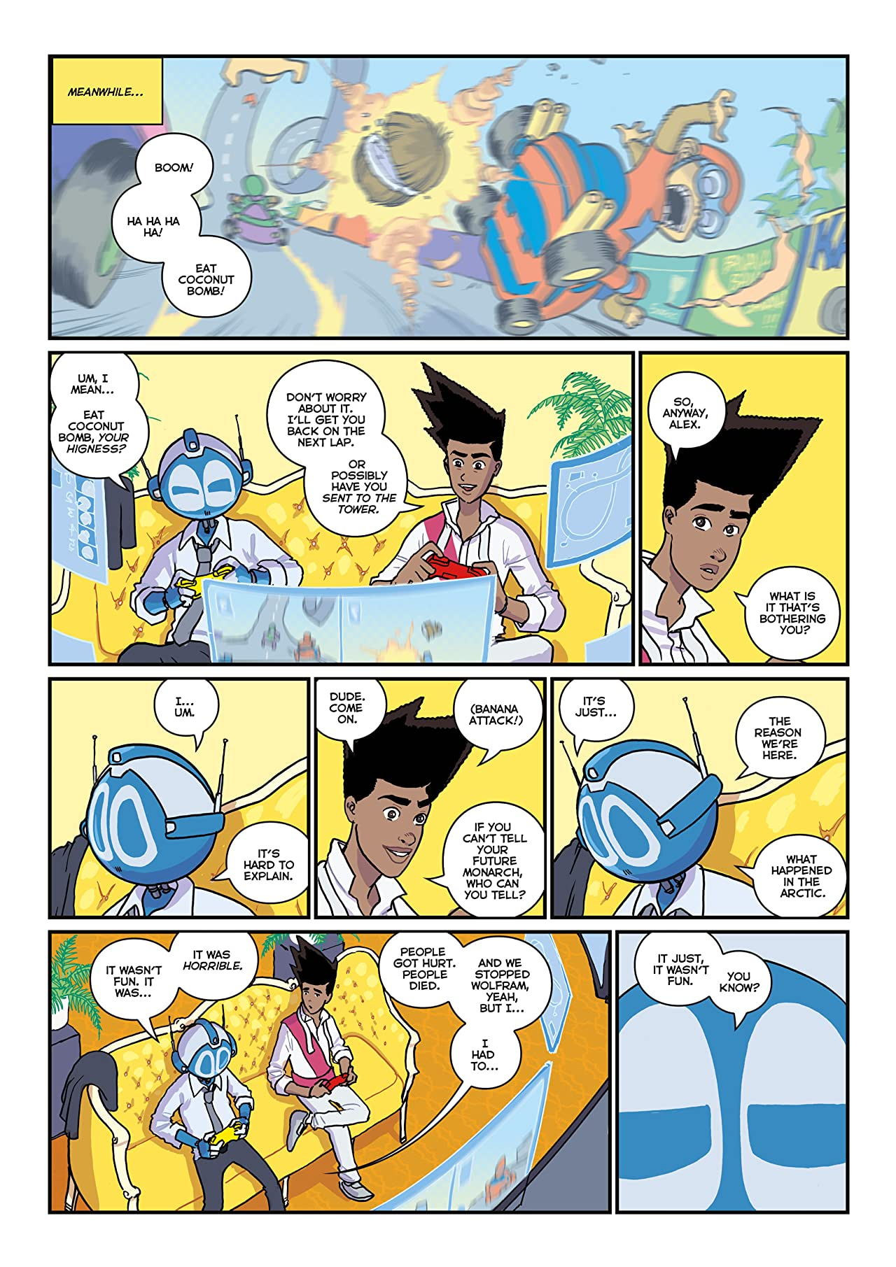 The Phoenix #336: The Weekly Story Comic