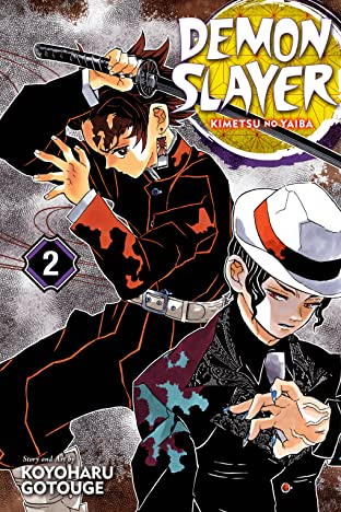 Demon Slayer: Kimetsu no Yaiba Vol. 2