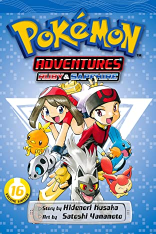 Pokémon Adventures (Ruby and Sapphire) Tome 16
