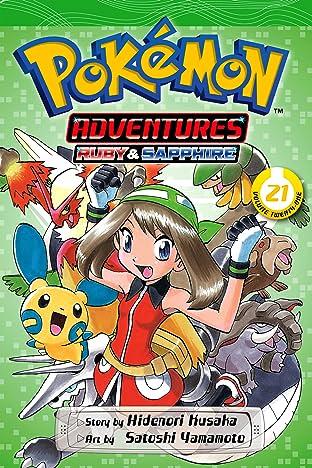 Pokémon Adventures (Ruby and Sapphire) Vol. 21