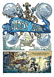 Disney Moby Dick, starring Donald Duck