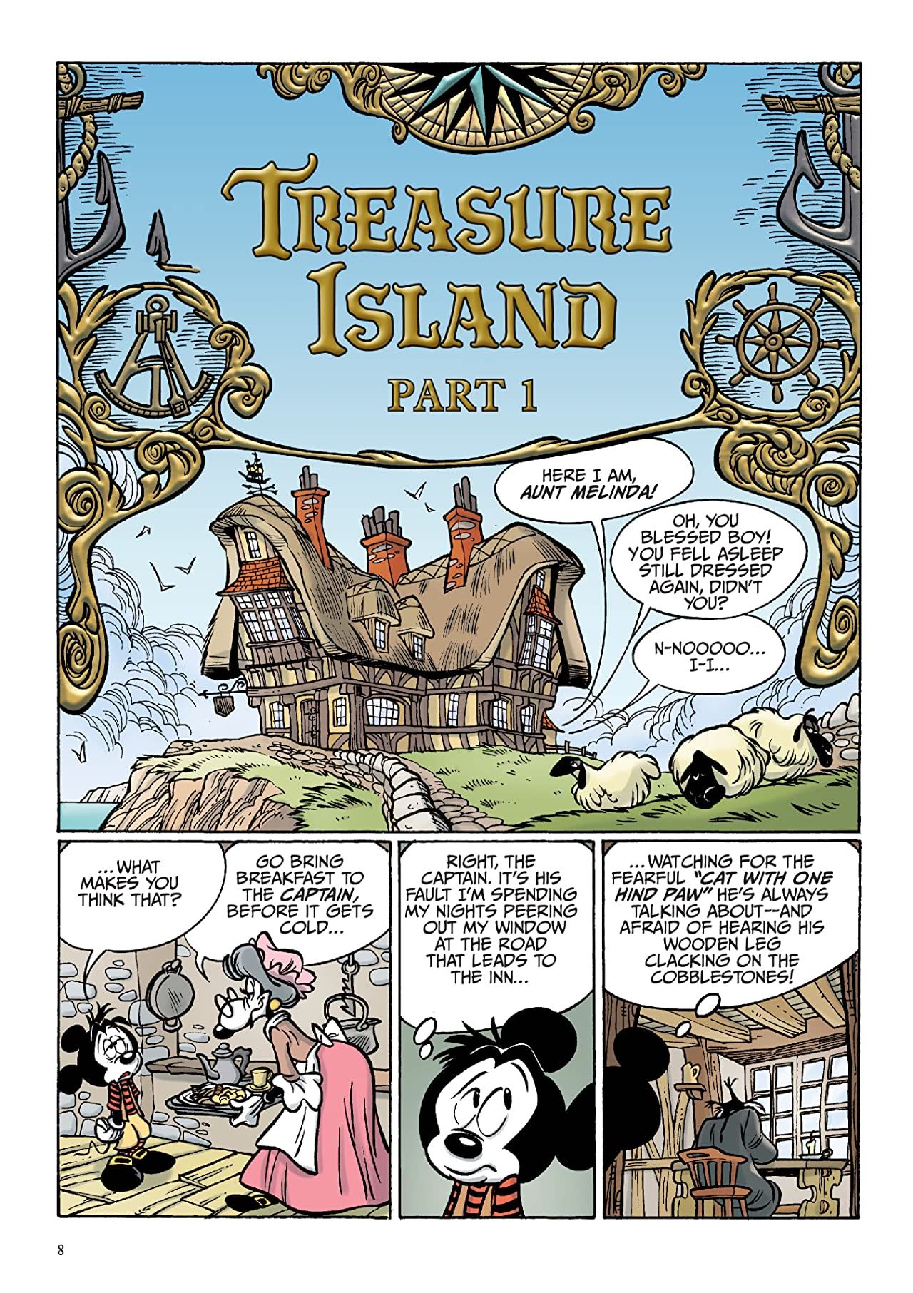 Disney Treasure Island, starring Mickey Mouse