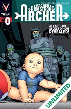 Archer & Armstrong (2012- ): Archer #0: Digital Exclusives Edition
