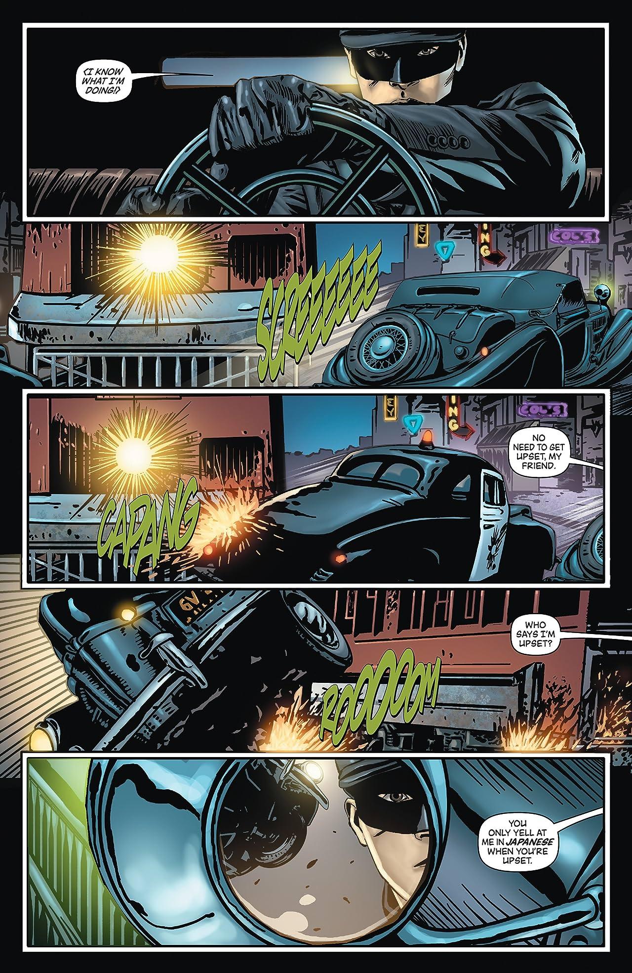 Kato Origins: Way of the Ninja #1: Preview