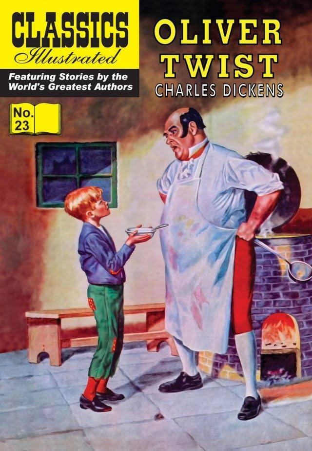Classics Illustrated #23: Oliver Twist