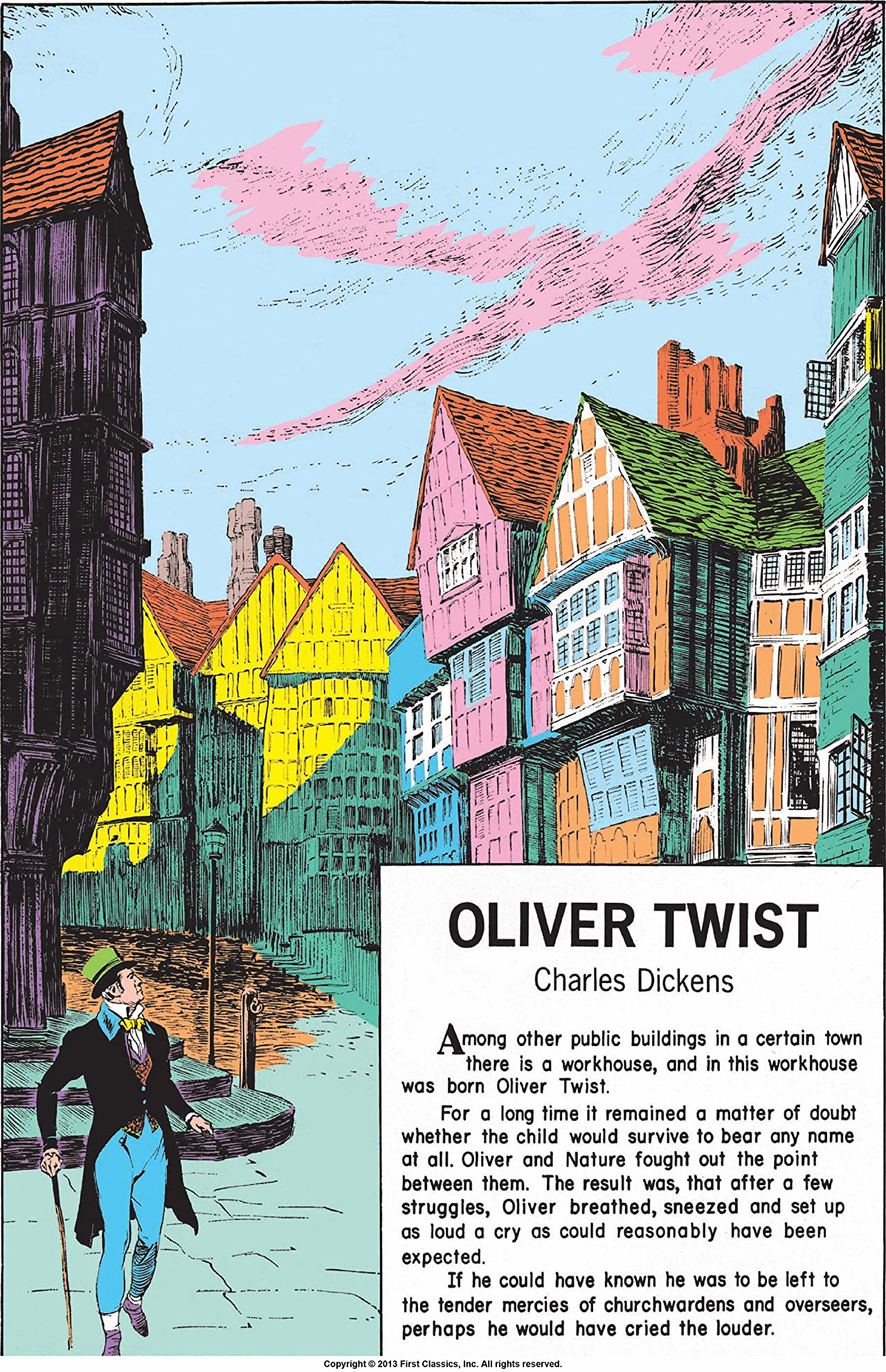 Classics Illustrated #23: Oliver Twist