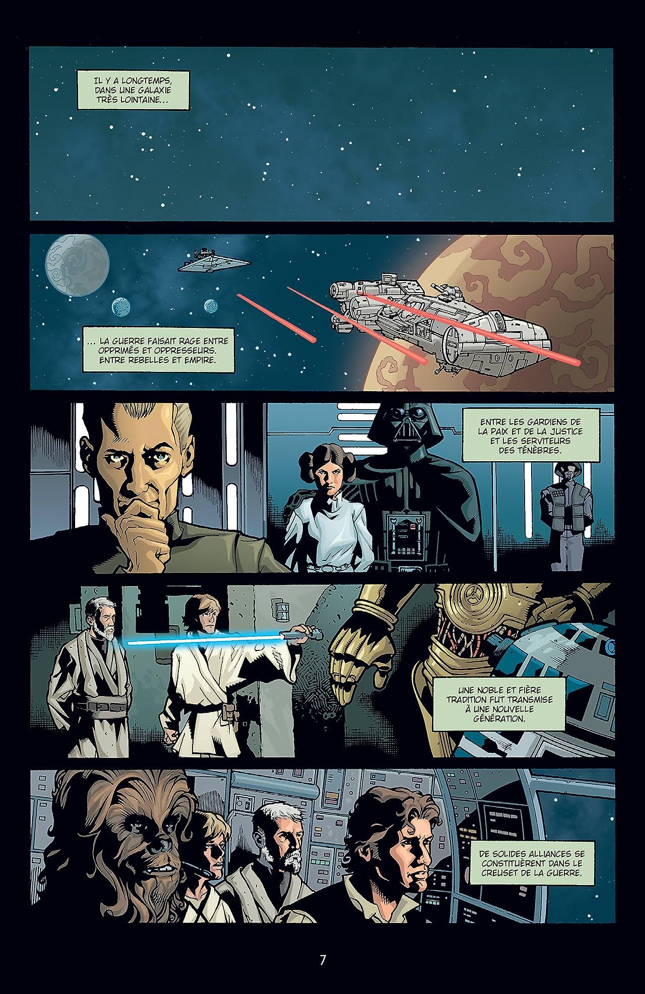Star Wars Infinities - Intégrale