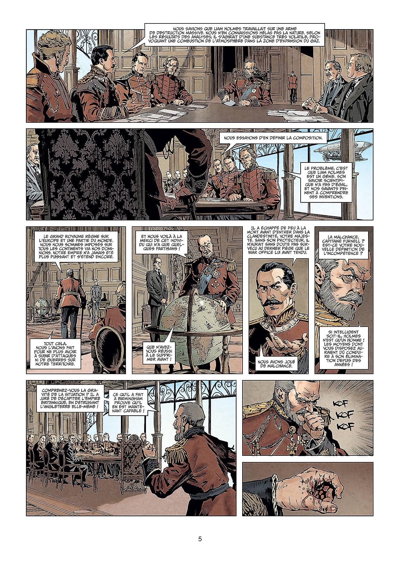 Sherlock Holmes Society Vol. 5: Les Pêchés du fils
