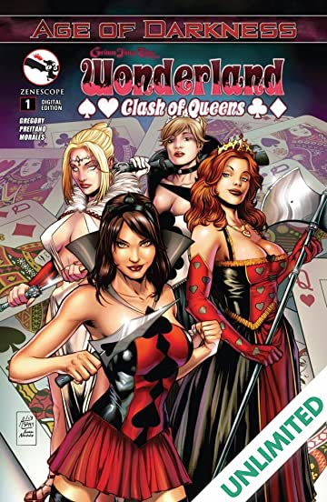 Wonderland: Clash of Queens #1 (of 5)